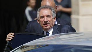 François Bayrou le 31 mai 2017, à l'Elysée. (PATRICK KOVARIK / AFP)