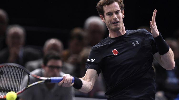 Andy Murray a impressionné face à Coric (MIGUEL MEDINA / AFP)