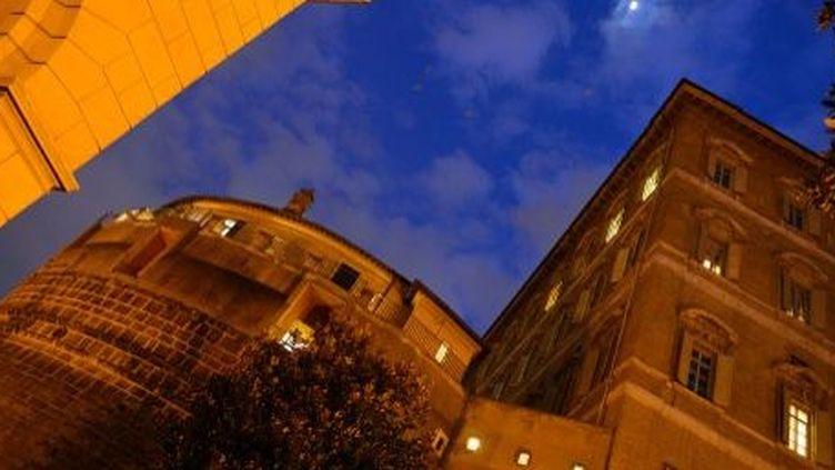L'Institut pour les Œuvres religieuses (IOR), la banque du Vatican, le 18 Février 2012. ( AFP PHOTO / GABRIEL BOUY)