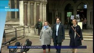 Ce couple d'hétérosexuels britanniques se voient refuser une union civile (France 3)