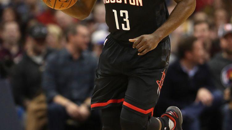 Le joueur des Rockets, James Harden (MATTHEW STOCKMAN / GETTY IMAGES NORTH AMERICA)