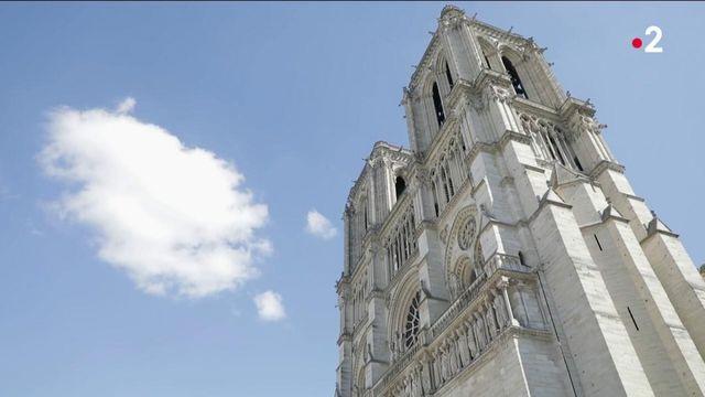 Notre-Dame : en pleine reconstruction, la cathédrale se pare de métal