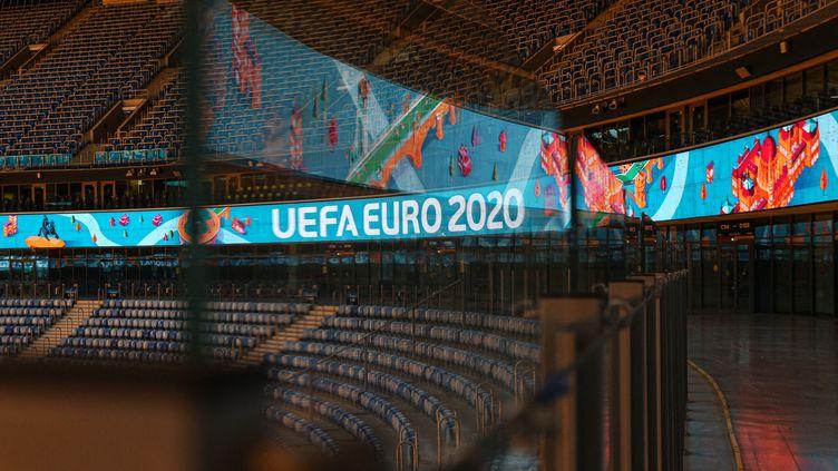 Le Zenith-Arena Stadium de Saint-Pétersbourg accueillera quatre rencontres de l'Euro 2021. (VALYA EGORSHIN / NURPHOTO)