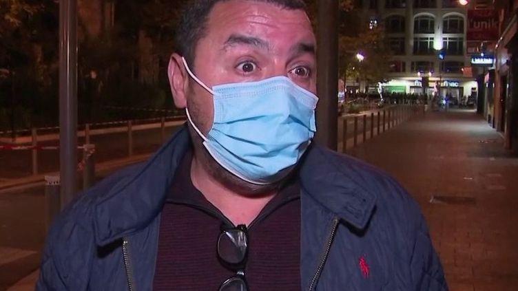 Attentat terroriste à Nice : lerécit d'un témoin bouleversé (France 2)