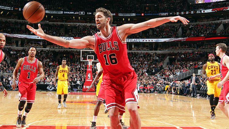 L'intérieur espagnol des Chicago Bulls, Pau Gasol, en partance vers les Spurs