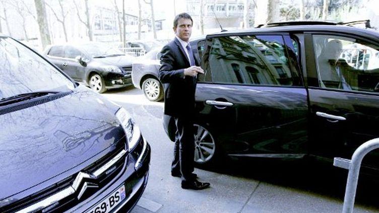 Manuel Valls n'est pas encore trop inquiet (AFP)