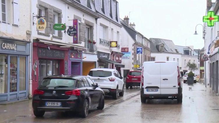 Carnac (Morbihan), où ont été découverts trois cas de Covid-19. (FRANCE 3)