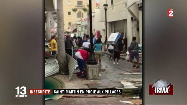 Après Irma, des pillages à Saint-Martin