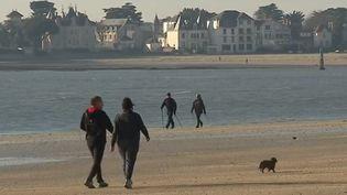 La plage de La Baule (Loire-Atlantique). (CAPTURE D'ÉCRAN FRANCE 3)