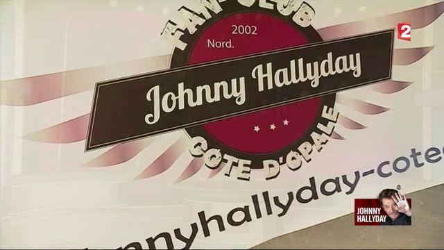 Boulogne-sur-Mer : le deuil des fans de Johnny Hallyday