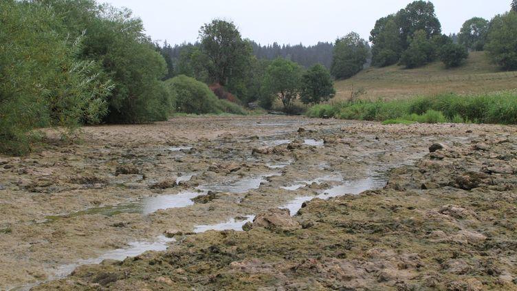 Le Doubs, entre Pontarlier et Morteau, le28 juillet 2018. (MAXPPP)
