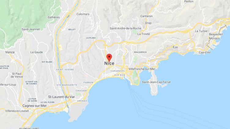 Nice, dans lesAlpes-Maritimes. (GOOGLE MAPS)