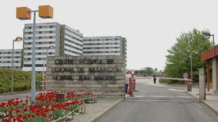 L'entrée du CHRU de Besançon (Doubs), 1er mai 2006. (Photo d'illustration) (MAXPPP)
