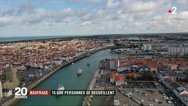 Sables-d'Olonne : émotion lors de l'hommage aux trois sauveteurs de la SNSM