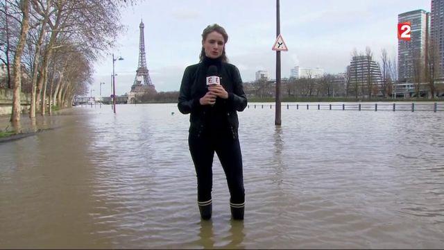 Inondations à Paris : le pic de la crue attendu ce week-end