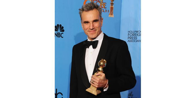 Daniel Day-Lewis, Golden Globe du meilleur acteur (13/01/2013)  (Ken Winter / Getty Images North America / AFP)
