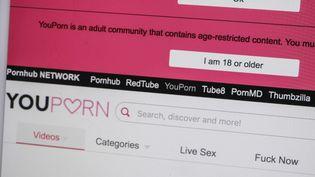 Le Code pénal interdit de laisser accessibles aux mineurs des contenus pornographiques. (JEAN-MICHEL DELAGE / HANS LUCAS / AFP)