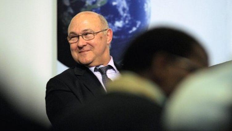 Michel Sapin (PS) un des négociateurs de l'accord PS-EELV. (FRANCK FIFE / AFP)