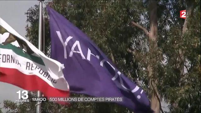 Yahoo! : 500 millions de comptes piratés