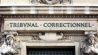 La façade du tribunal correctionnel de Paris, en janvier 2011. (LOIC VENANCE / AFP)