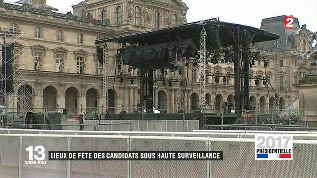 Présidentielle : quelle sécurité pour les lieux de fête des candidats ?