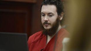 James Holmes, lors d'une audience au tribunal de Centennial (Colorado, Etats-Unis), le 4 juin 2013. (REUTERS)