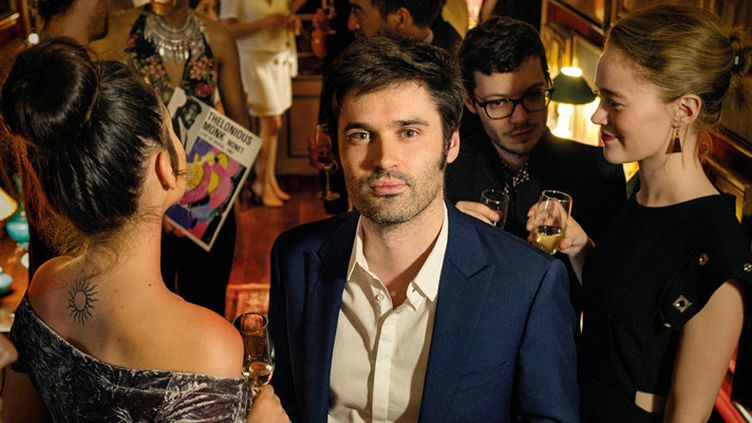 """Au centre, le pianiste Paul Lay sur la couverture de """"The Party"""", l'un de ses deux disques sortis sur le label Laborie Jazz  (Jean-Baptiste Millot)"""