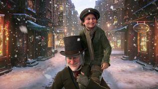 """Jim Carey dans """"Le dôle Noël de Scrooge"""" de Robert Zameckis. (Walt Disney Studios Motion Pictures France)"""