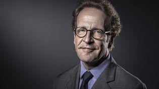 Portrait datant de juin 2017 de Gilles Le Gendre, élu nouveau président du groupe La République en marche (LREM) à l'Assemblée Nationale, le 18 septembre 2018. (JOEL SAGET / AFP)