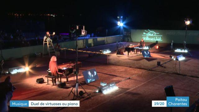Duel de piano avec Yvan Cassar et André Manoukian