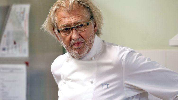 Pierre Gagnaire, le chef aux 16 étoiles. (PATRICK KOVARIK / AFP)