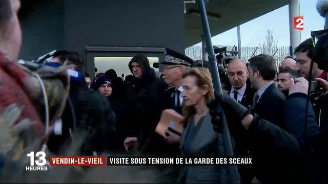Vendin-le-Vieil : visite sous tension de la garde des Sceaux