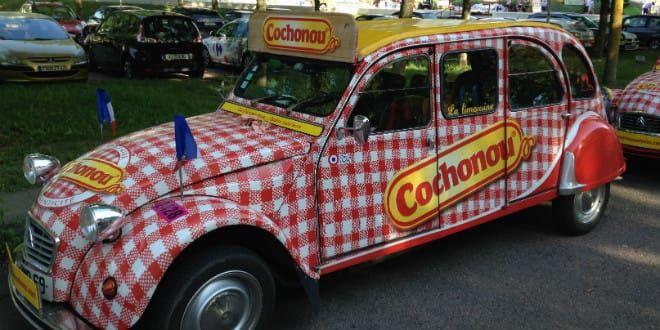 La limousine 2CV Cochonou