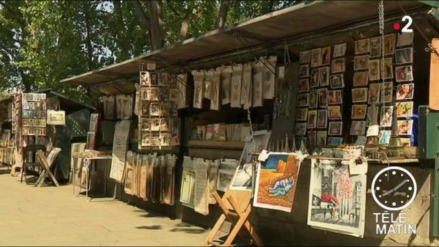 Paris : les bouquinistes bientôt classés au patrimoine culturel de l'Unesco ?