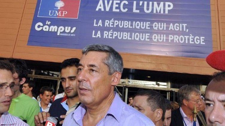 Henri Guaino, au campus de l'UMP à Marseille. (AFP)