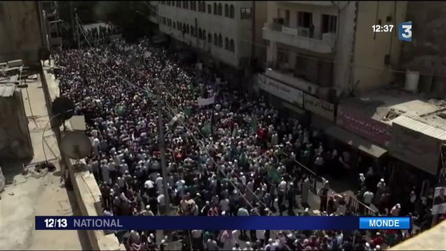 Vives tensions dans les pays arabes
