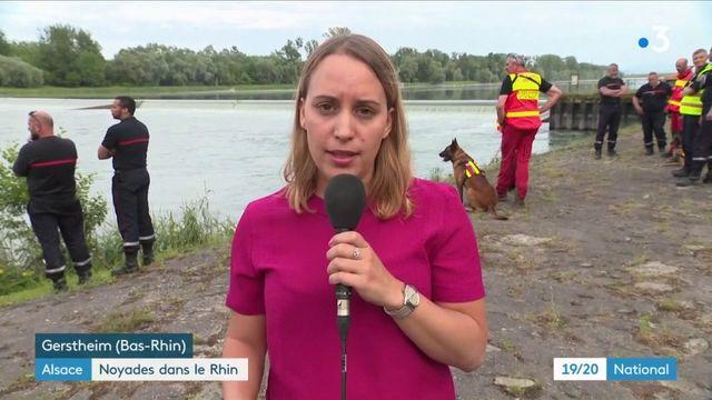 Noyades dans le Rhin : où en sont les recherches pour retrouver la fillette disparue ?