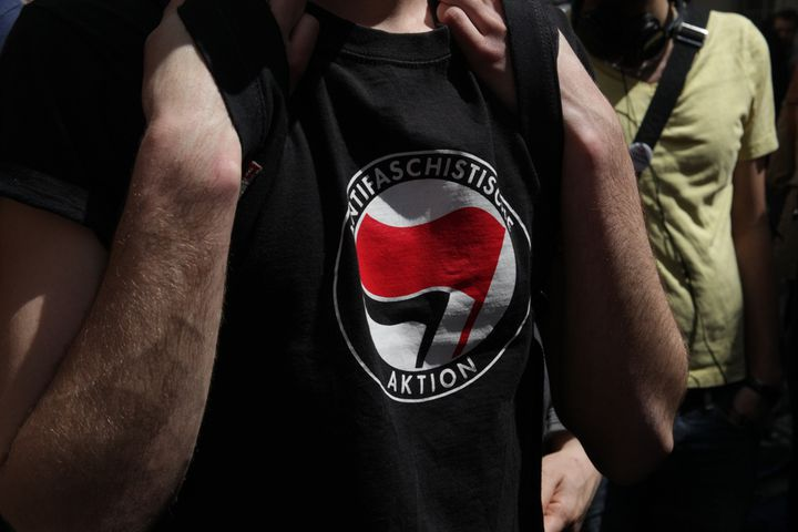 Clément faisait partie d'un groupe antifasciste (MARIE DESHAYES / FRANCETV INFO)