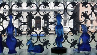 Oeuvre en verre d' Egidio Costantini, CollectionPeggy Guggenheim  (FRUMM John / hemis.fr / AFP )