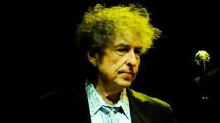 Bob Dylan sur scène au Royal Albert Hall de Londres le 27 novembre 2013  (Danny Clifford / MaxPPP)