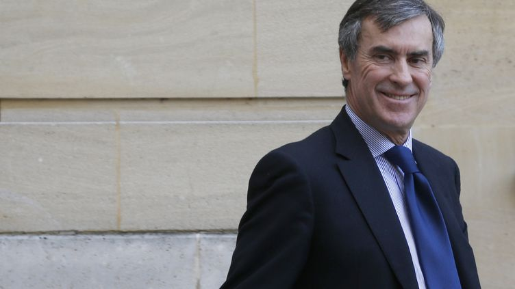 Le ministre du Budget, Jérôme Cahuzac, à l'hôtelMatignon à Paris, le 20 février 2013. (FRANCOIS GUILLOT / AFP)