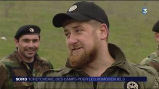 Ramzan Kadyrov règne sur la Tchétchénie. (FRANCE 3)