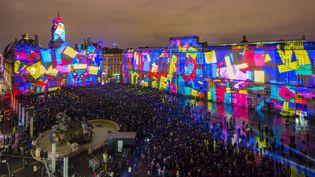 La place des Terreaux, dans le centre de Lyon, le 8 décembre 2015. (JACQUES PIERRE / HEMIS.FR / AFP)