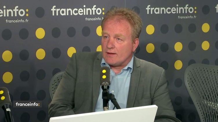 François Hommeril président de la CFE-CGC, invité de franceinfo le mercredi 19 juin 2019. (FRANCEINFO)