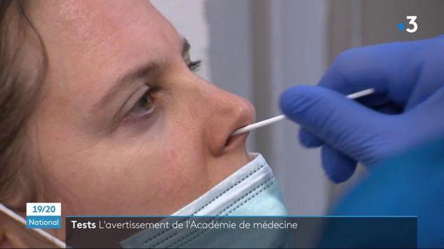 Covid-19 : l'Académie de médecine donne ses recommandations pour l'utilisation des écouvillons