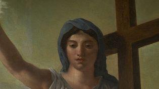 Triomphe de la Religion ou La Vierge du Sacré Cœur, 1821 - Eugène Delacroix, Cathédrale d'Ajaccio  (Jean-François Le Sénéchal)