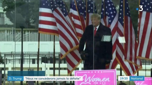 États-Unis : Donald Trump ne s'avoue pas vaincu