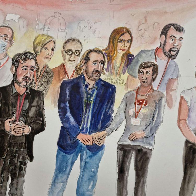 La cour d'assises spéciale de Paris a entendu des parties civiles du Bataclan, jeudi 7 octobre, au procès des attentats du 13-Novembre. (ELISABETH DE POURQUERY / FRANCE INFO)