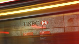 Un établissement HSBC à la City, à Londres (Royaume-Uni), le 12 novembre 2014.  (STEFAN WERMUTH / REUTERS)