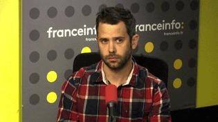 Cyrille Cormier, responsable des campagnes Energies et Climat chez Greenpeace. (FRANCEINFO)